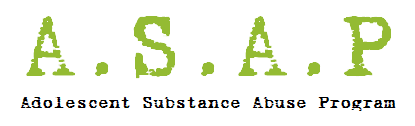 Adolescent Substance Abuse Program Logo