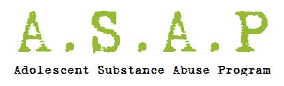 Adolescent Substance Abuse Program Logo