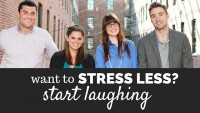 Want To Stress Less? Start Laughing